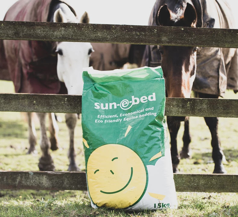 sun-e-bed Packaging Images With Horses