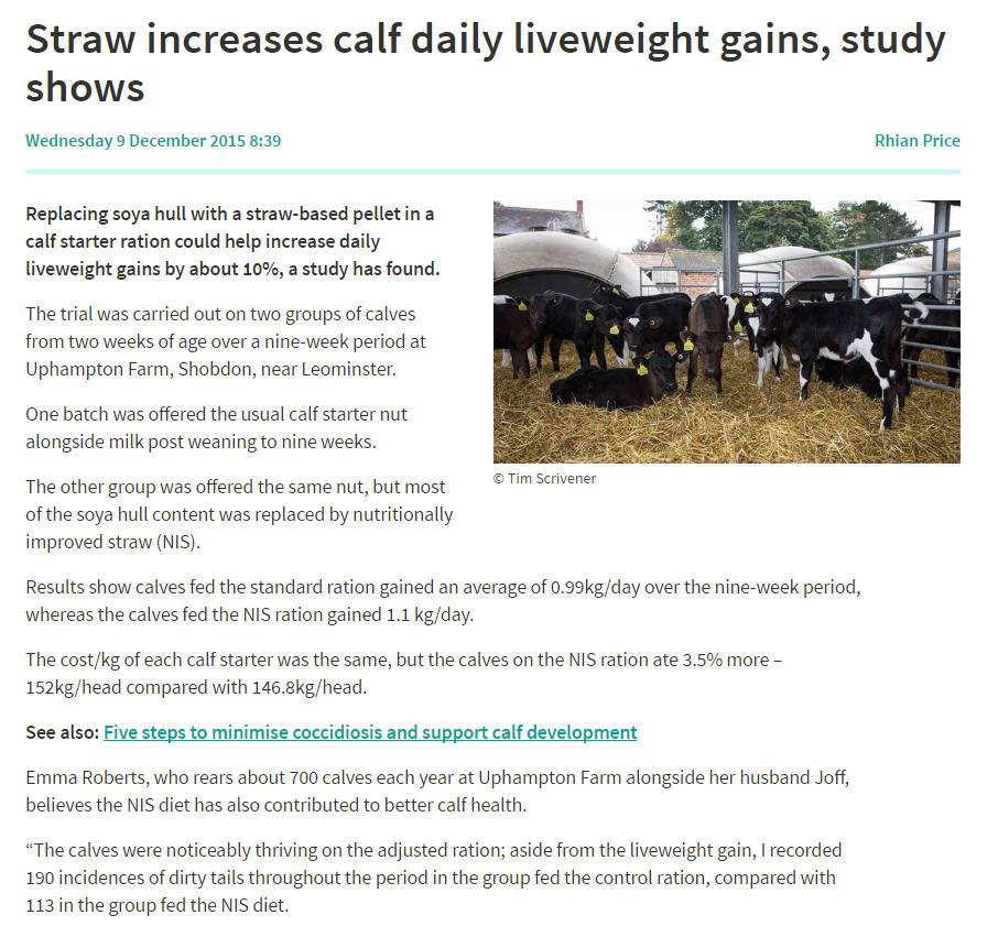 Farmer Weekly Article Dec 2105