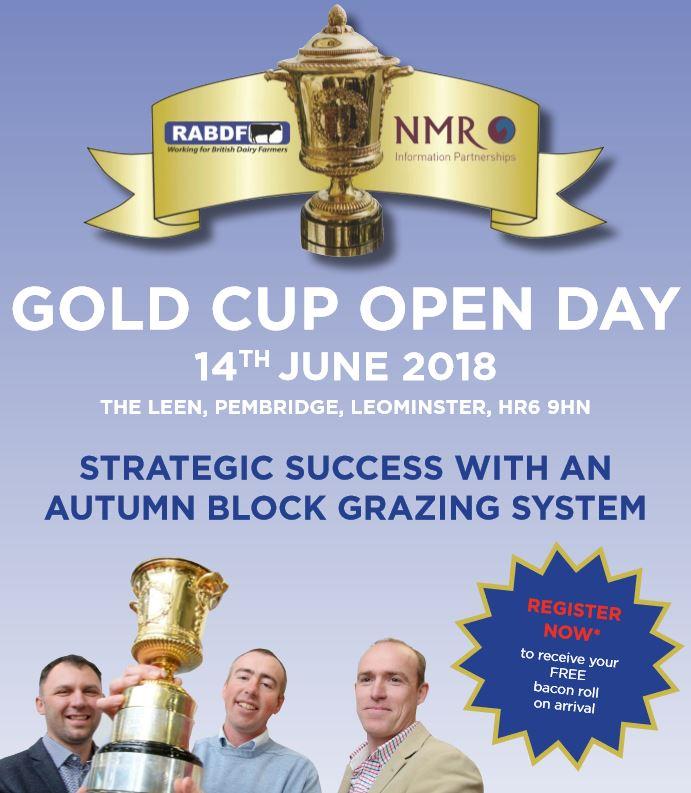 RABDF Gold Cup Flyer Image