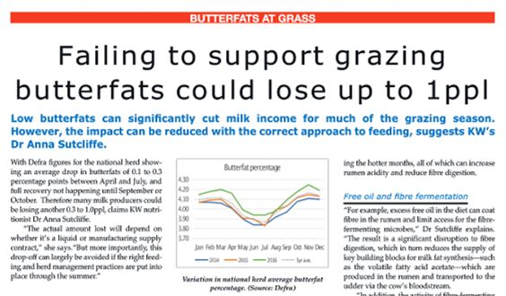 British Dairying June 2018 Butterfats Article