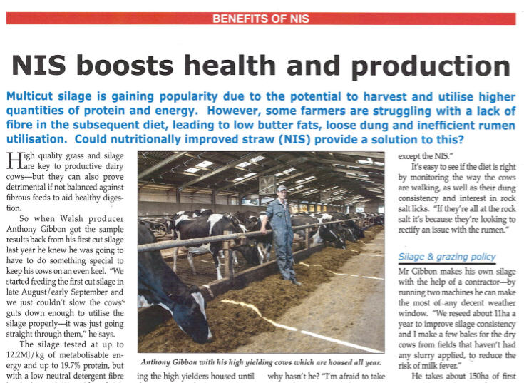 NIS Boosts health and production article image