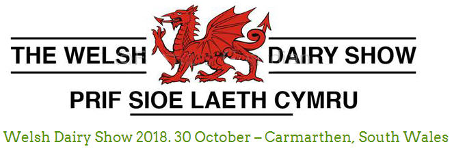The Welsh Dairy Show 2018 Flyer Image 2018