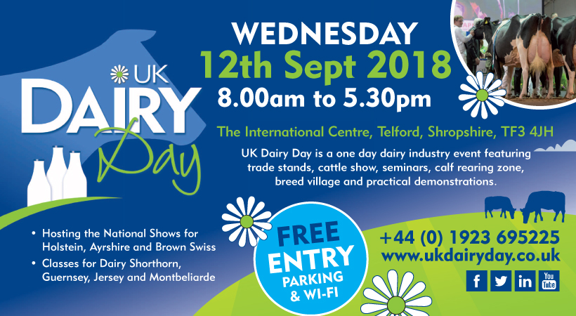 UK Dairy Day Flyer Image 2018