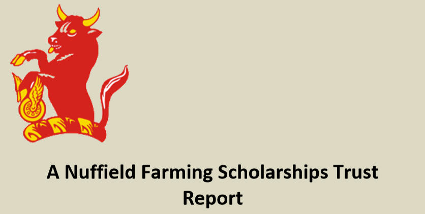 Iwan Vaughn Nuffield Scholarships Report Header