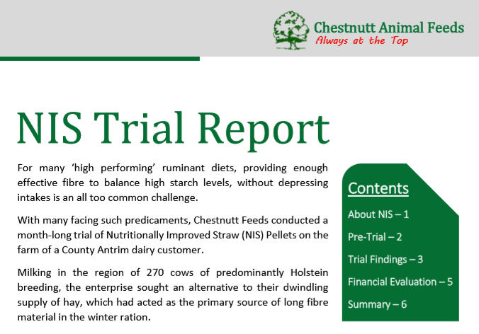 Chestnutt Animal Feeds NIS Trail Report Image